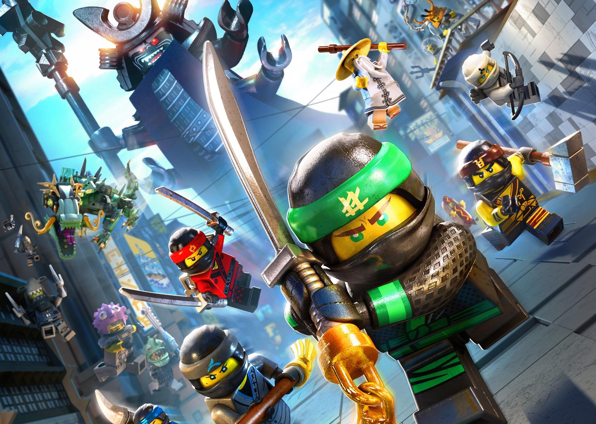 New Lego Games For Ps3 : New trailer released for the lego ninjago movie video game