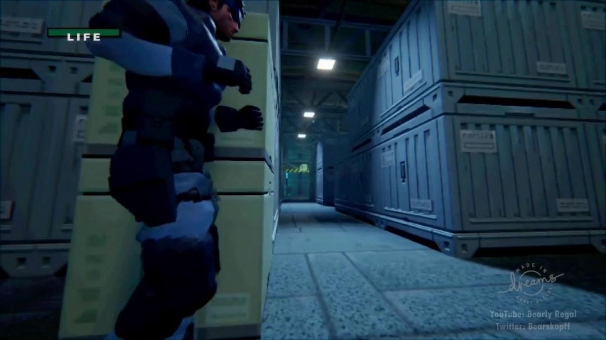 Dreams Plays Host to Awesome Fan-Made Metal Gear Solid
