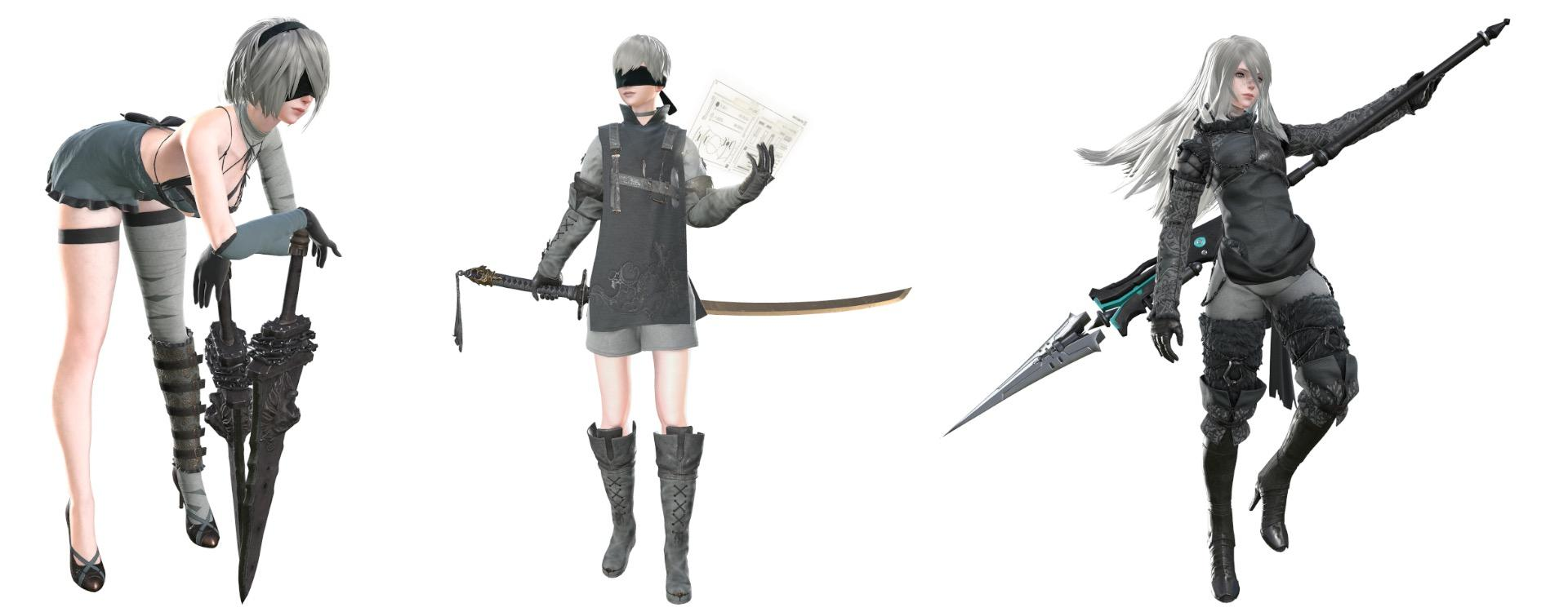Nier Automata Getting New Dlc Outfits Square Enix Ceo