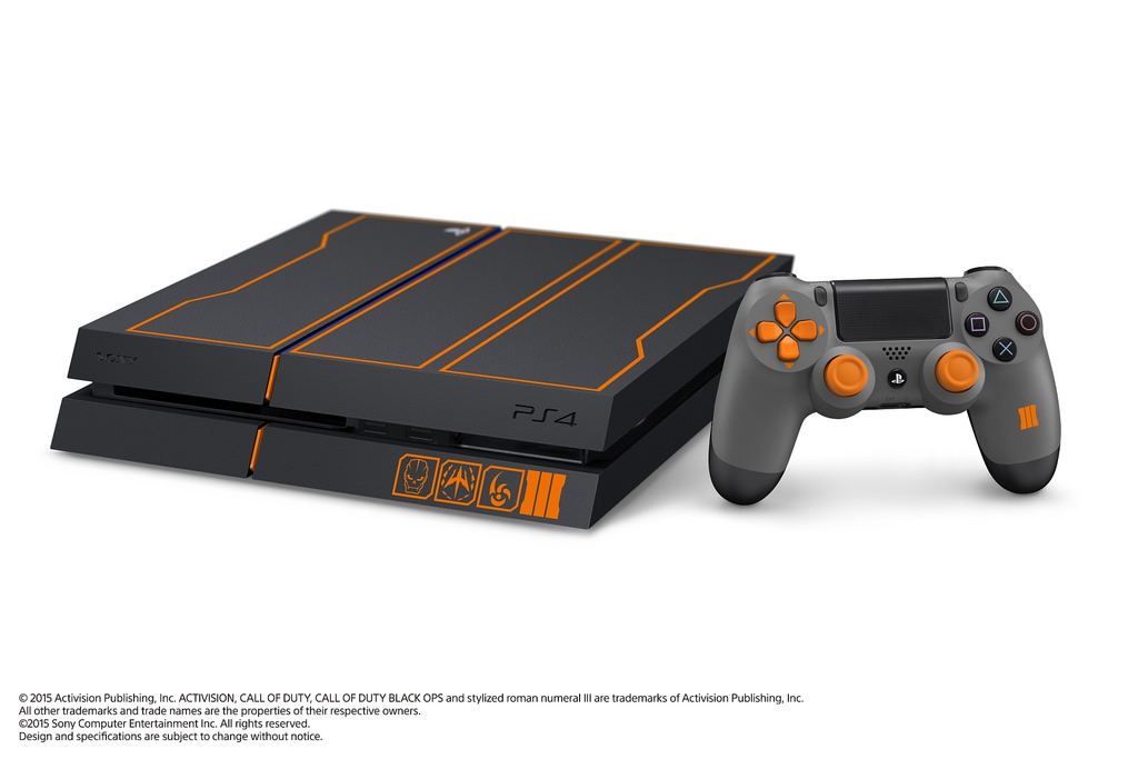 call of duty black ops 3 custom 1tb ps4 console revealed playstation 4 playstation 3 news at. Black Bedroom Furniture Sets. Home Design Ideas