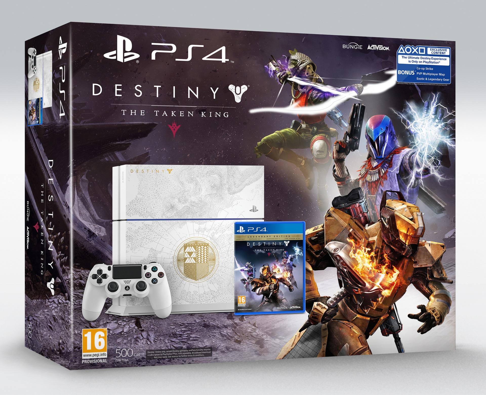 Destiny: The Taken King Limited Edition PS4 Bundle ...