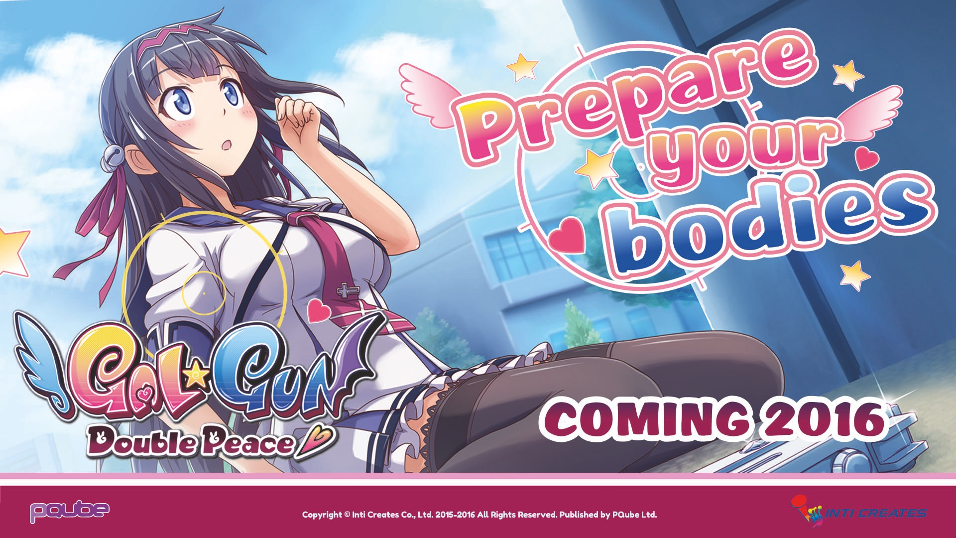 Gal Gun Double Peace US Release on PS4 & PS Vita Confirmed
