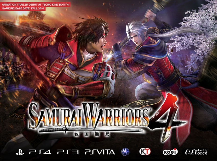 Samurai Warriors 4 October Release Date Announced For PS3  PS4 and    Historical Samurai Warriors