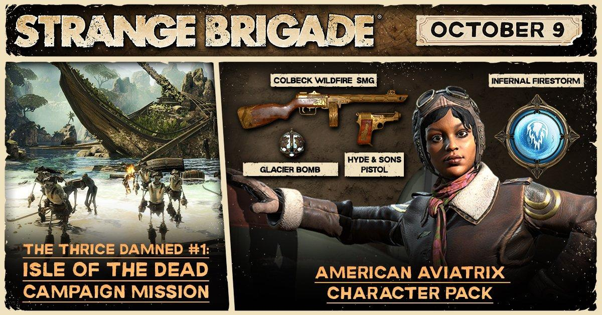 Strange Brigade 'The Thrice Damned' DLC Now Available