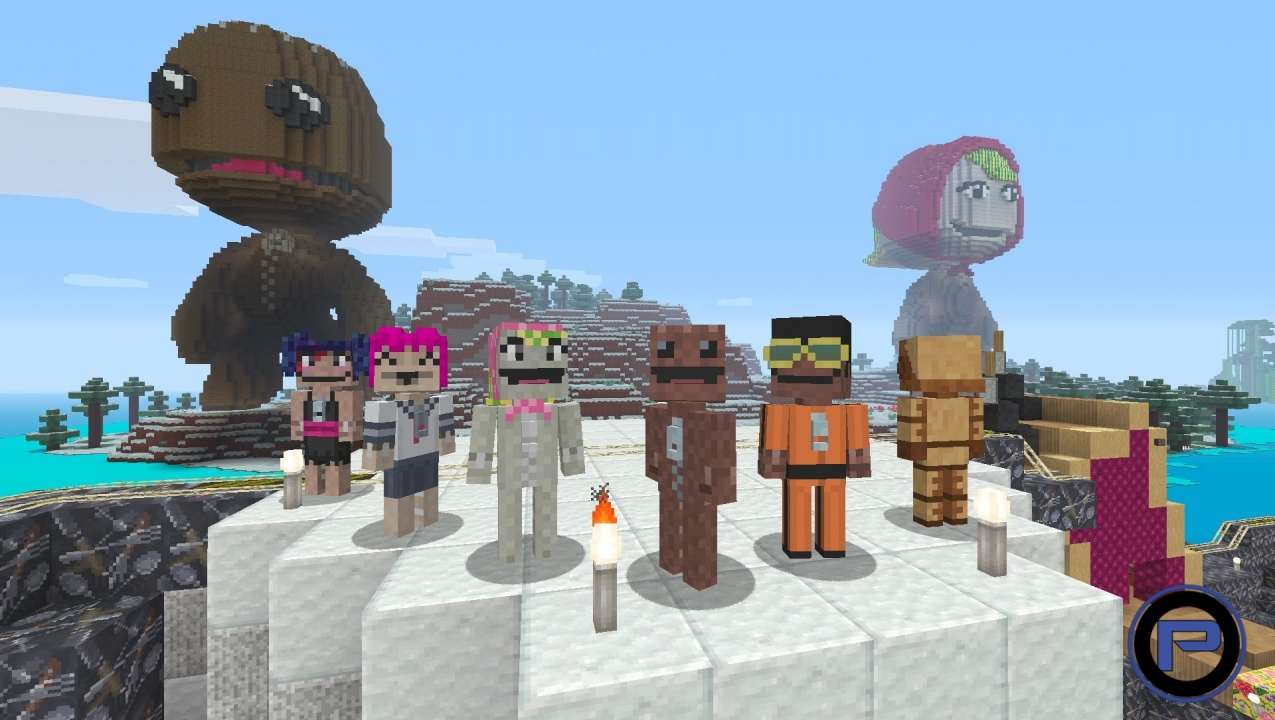 Minecraft Playstation 4 Edition Gets Cross Play Update From