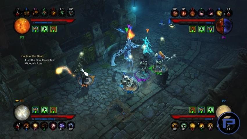 how to play diablo 3 ps4 multiplayer