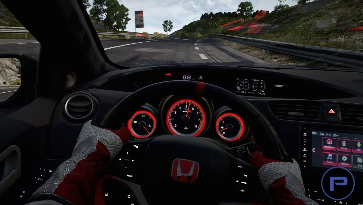 Project cars will include tracks with layouts