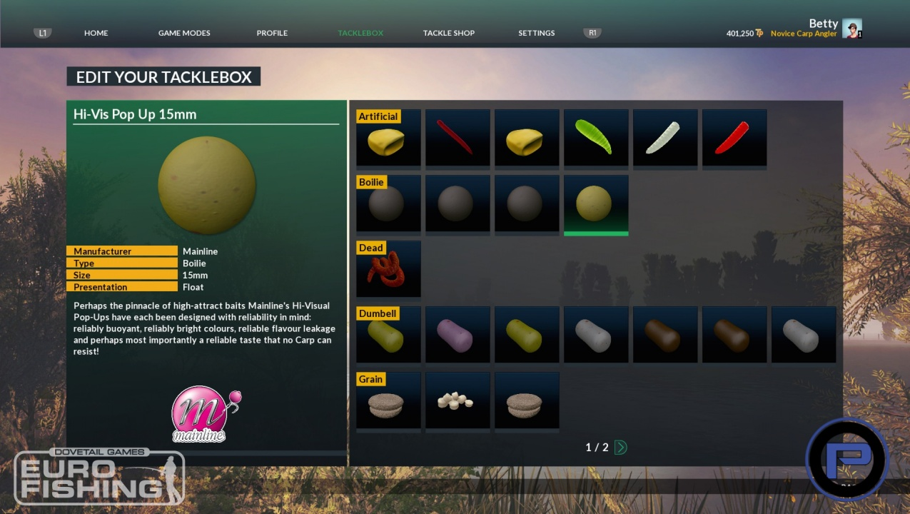 Dovetail games euro fishing screenshot 8 for Playstation 4 fishing games