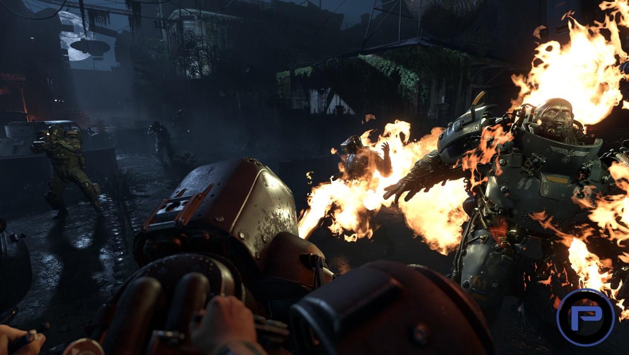 Wolfenstein 2 The New Colossus Gameplay Bj On Stilts