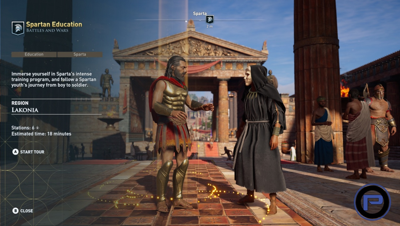 Assassin's Creed Odyssey Discovery Tour: Ancient Greece