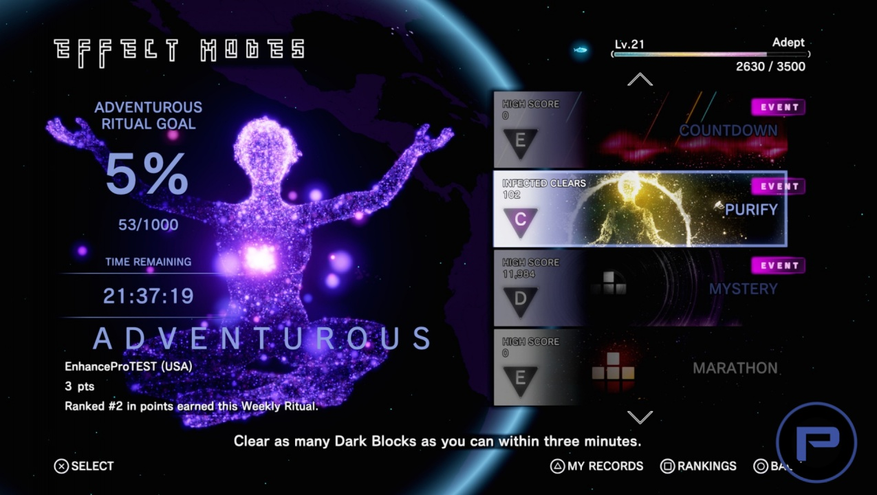 Return to Tetris Effect image gallery