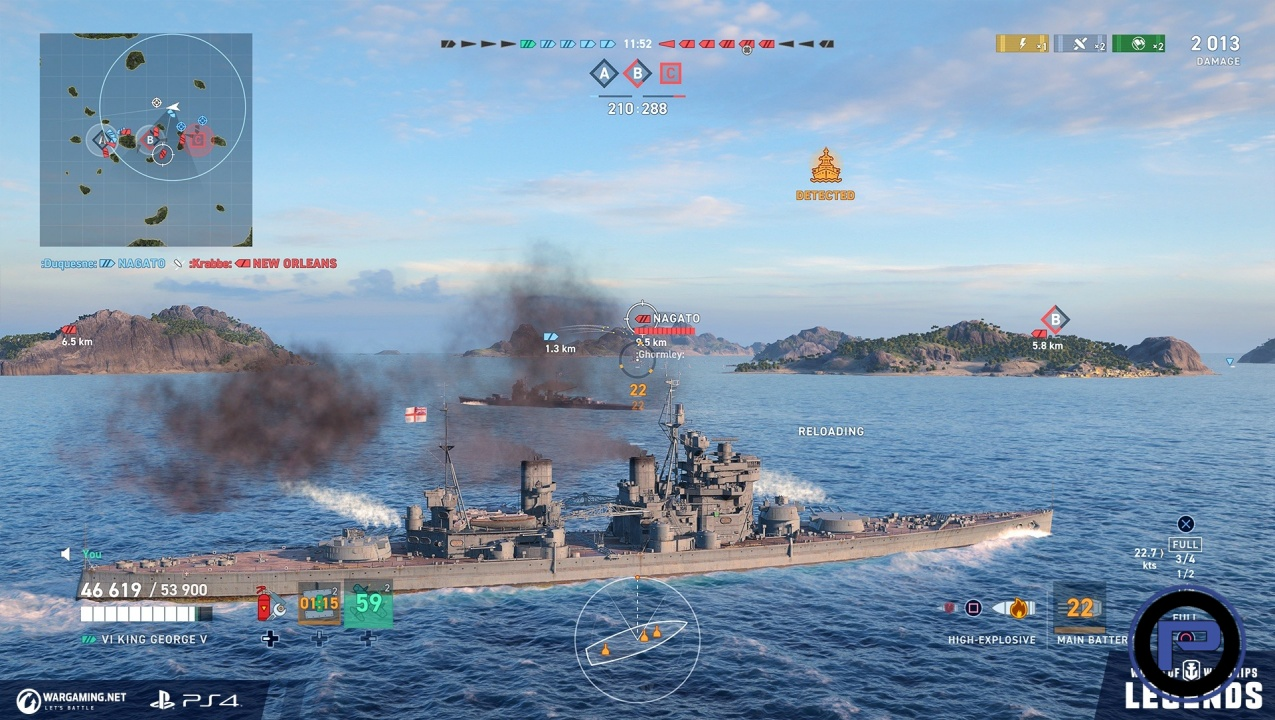 World of Warships: Legends is Out Now For PS4 As an Early